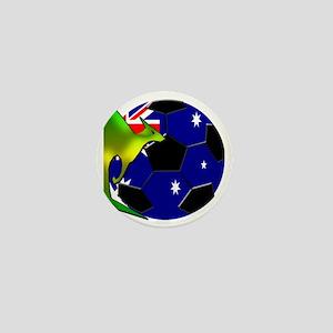 2-kangaroosoccer Mini Button
