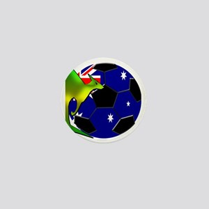 5-kangaroosoccer Mini Button
