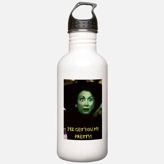I'LL GET YOU MY PRETTY Water Bottle