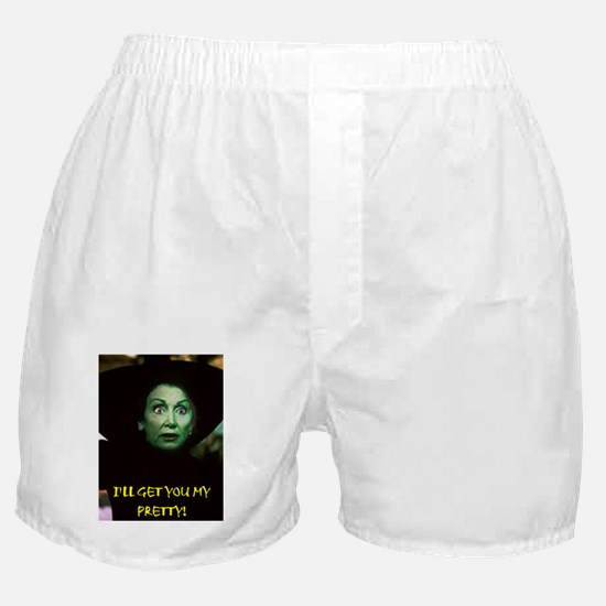 I'LL GET YOU MY PRETTY(framed panel p Boxer Shorts
