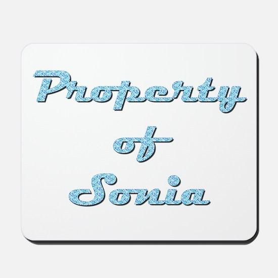 Property Of Sonia Female Mousepad