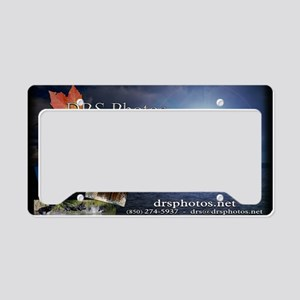 drs photos banner 4 License Plate Holder