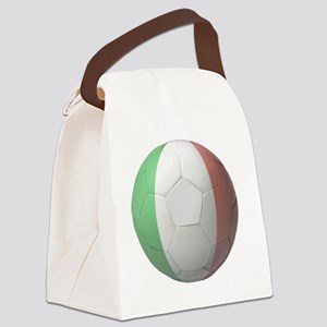 Italy Soccer Canvas Lunch Bag