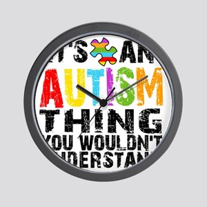 Autism Thing Wall Clock