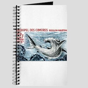 1965 Comoros Islands Hammerhead Shark Stamp Journa