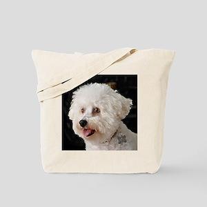 MARCO BICHON ART THROW PILLOW copy Tote Bag