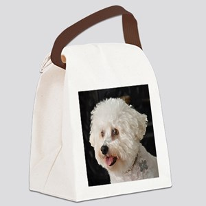 MARCO BICHON ART ORNAMENT copy Canvas Lunch Bag