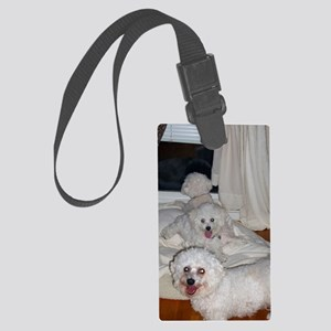 THREE MUSKETEERS GREETING CARD c Large Luggage Tag