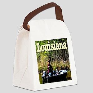 Louisiana_fishing_c2010TerryLynch Canvas Lunch Bag