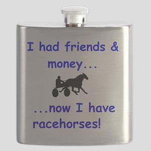 race horse Flask