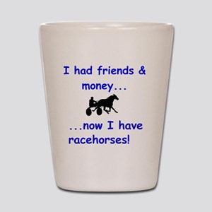 race horse Shot Glass