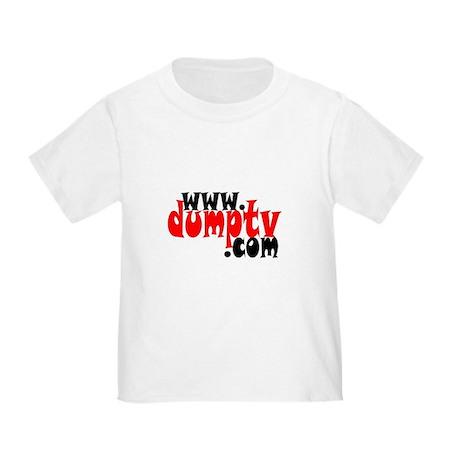 Toddler dumptv.com T-Shirt