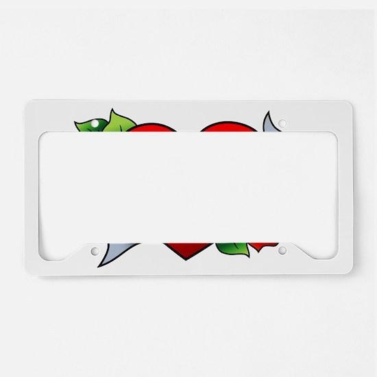 Boricua License Plate Holder