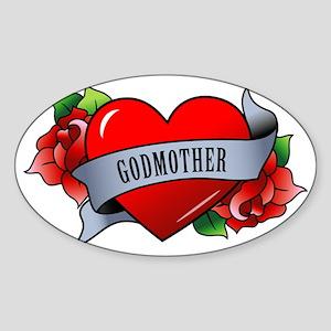 Godmother Sticker (Oval)