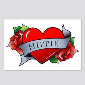 Hippie Postcards (Package of 8)