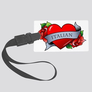 Italian Large Luggage Tag