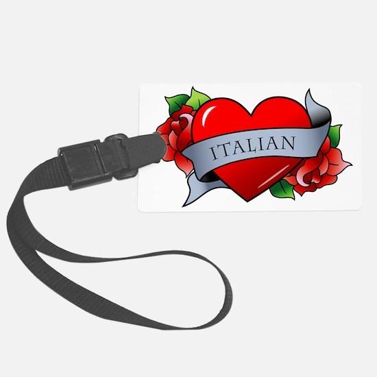 Italian Luggage Tag