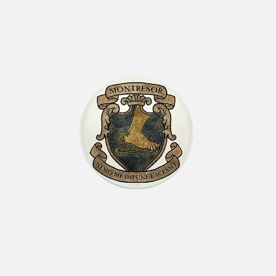 MONTRESOR-COAT-OF-ARMS_TR Mini Button