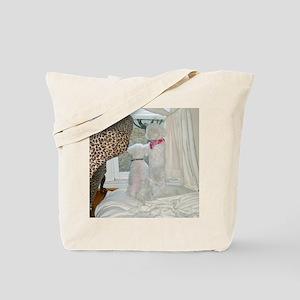 SOPHIE AND SASHA THROW PILLOW copy Tote Bag