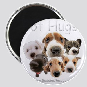 got_hugs_white1 Magnet