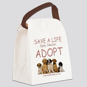 save_a_life_11a Canvas Lunch Bag