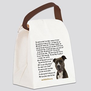 you_made_me_what_I_am_today_pit2 Canvas Lunch Bag