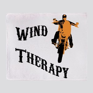 wind therapy Throw Blanket