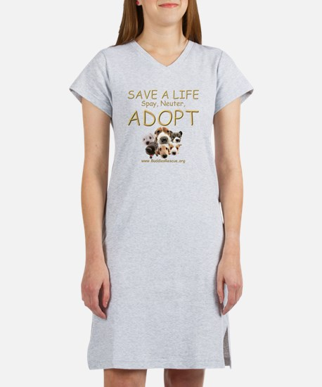 save_a_life_22 Women's Nightshirt