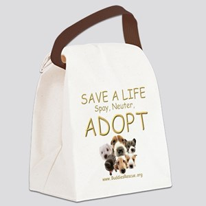 save_a_life_22 Canvas Lunch Bag