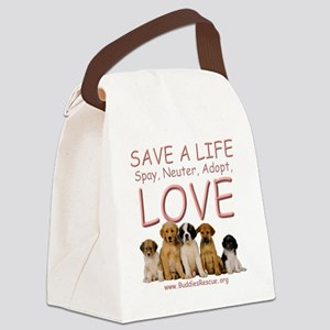save_a_life_1a Canvas Lunch Bag