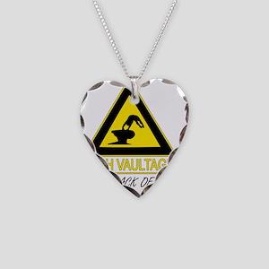 high_vaultage_white Necklace Heart Charm