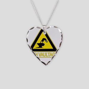 high_vaultage_dark Necklace Heart Charm