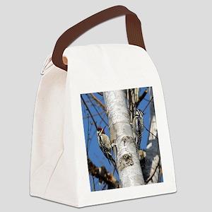 tile 2 Canvas Lunch Bag