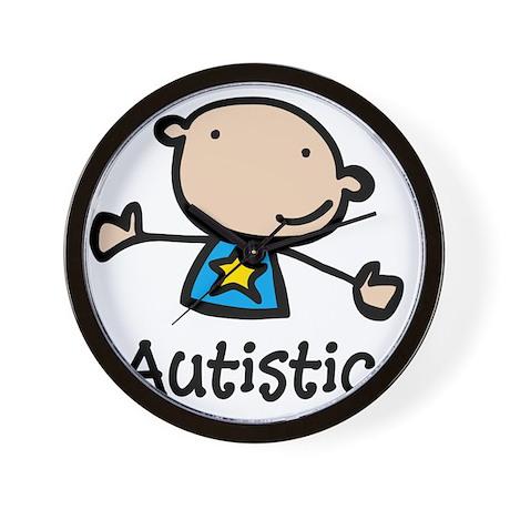 Autistic Kid Wall Clock