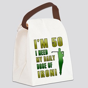 Iron 50 Canvas Lunch Bag