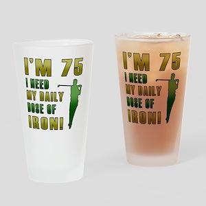 Iron 75 Drinking Glass