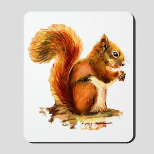 Original Watercolor Painting Of A Cute Mousepad