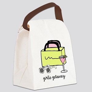 ggonpink Canvas Lunch Bag