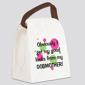 obviously_godmother_girl Canvas Lunch Bag