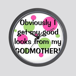 obviously_godmother_girl Wall Clock