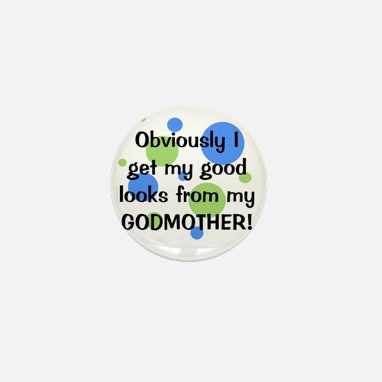 obviously_godmother_boy Mini Button
