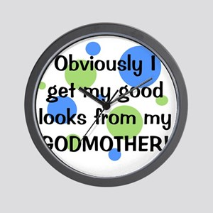 obviously_godmother_boy Wall Clock