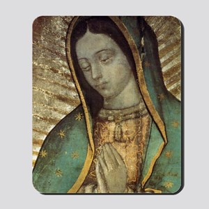 Our Lady of Guadalupe - close up Greetin Mousepad