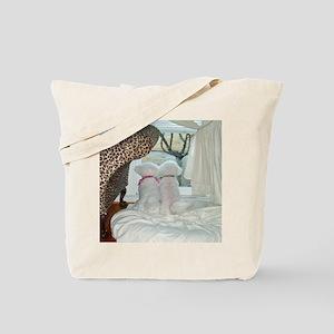 SASHA-AND-SOPHIE-THROW PILLOW II copy Tote Bag