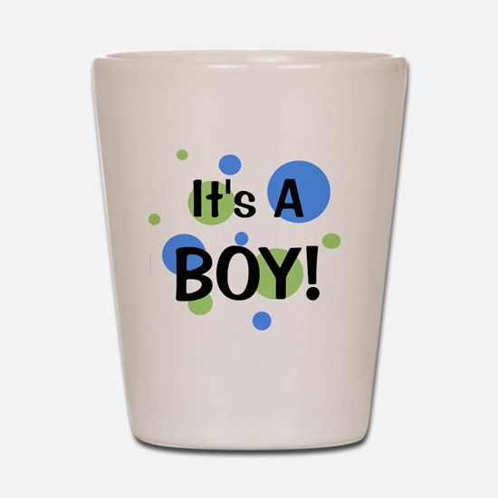 circles_itsaboy Shot Glass