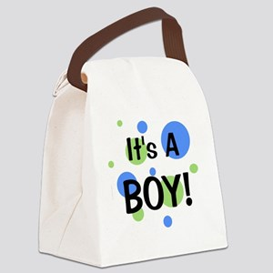 circles_itsaboy Canvas Lunch Bag