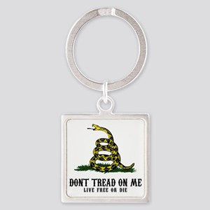 DTOM -wh Square Keychain