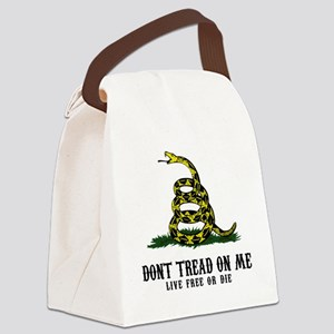 DTOM -wh Canvas Lunch Bag