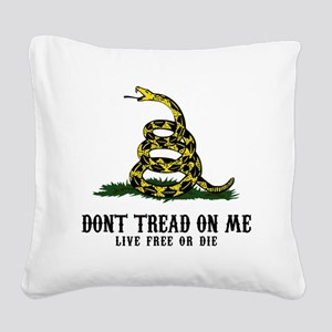 DTOM -wh Square Canvas Pillow