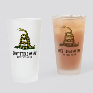DTOM -wh Drinking Glass